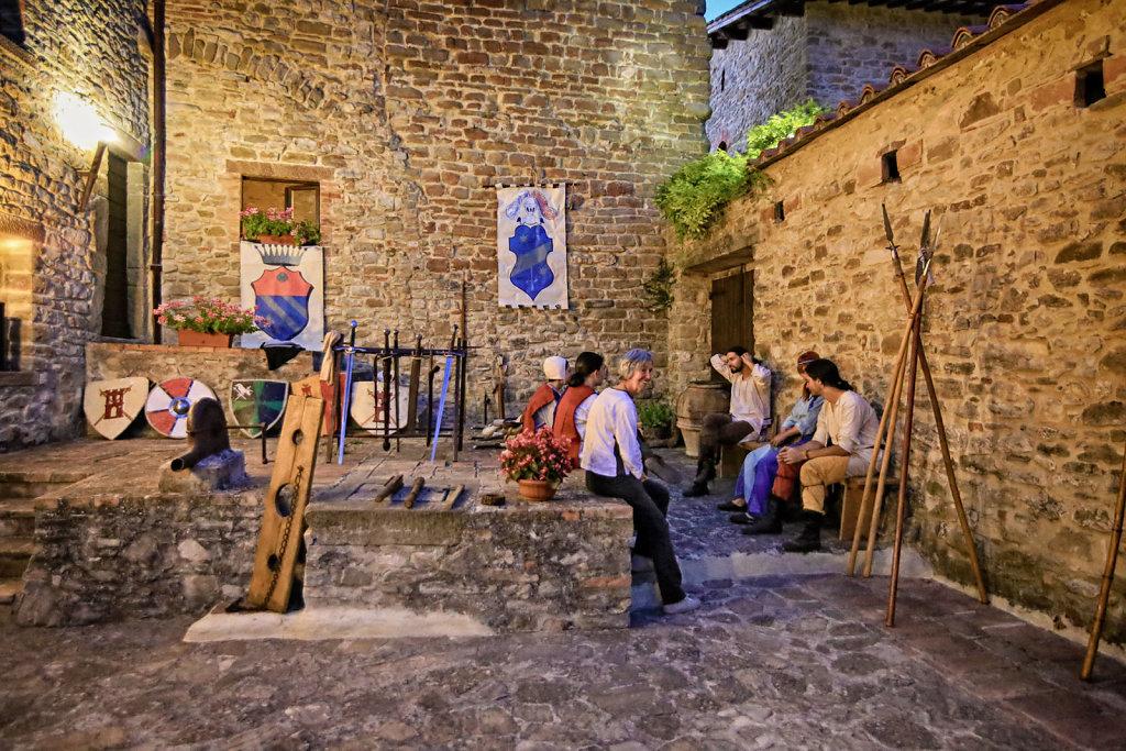 Giomici (PG) - Castello