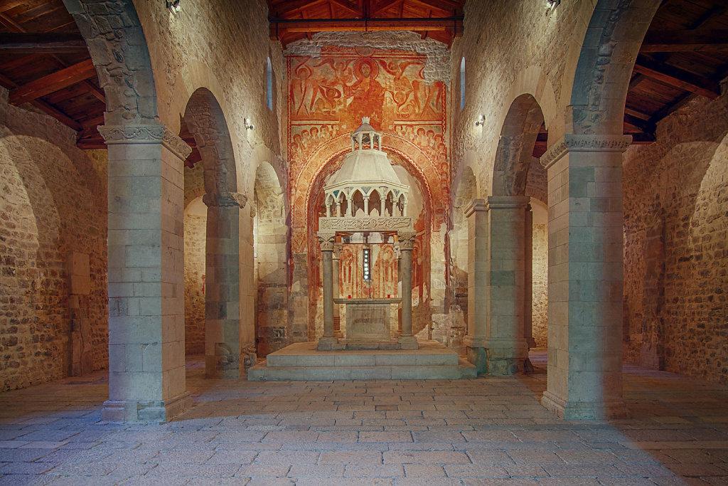 Capestrano (AQ) - Chiesa di San Pietro ad Oratorium